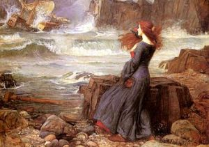 Miranda and the Tempest 1916 J. W. Waterhouse