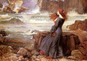 Miranda and the Tempest 1916 J. W. Waterhouse