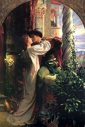 """Romeo and Juliet"" Dicksee"