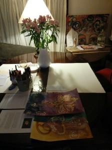 Altar Art Table